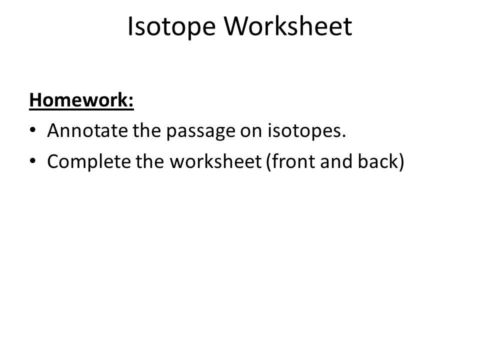 Chemi Block Due Atomic Structure Ranking Task Worksheet Ppt