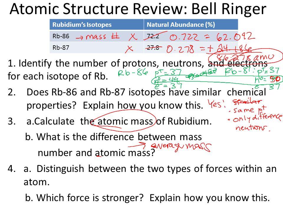 History Of Atomic Structure Review Worksheet Kidz Activities