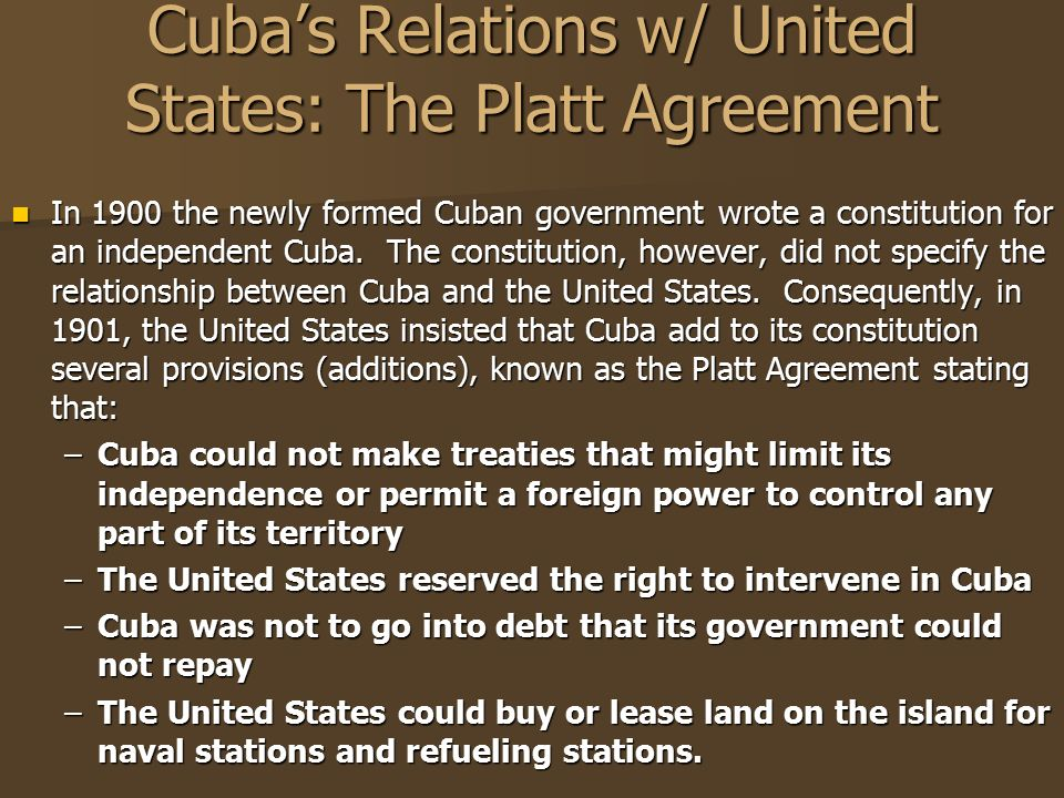 Do now why do you think women won the right to vote in 1920 after cubas relations w united states the platt agreement platinumwayz