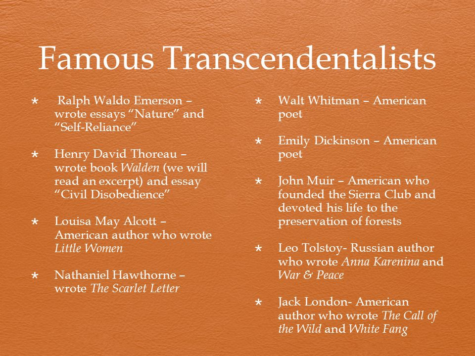 a review of transcendentalism in todays society Definition of transcendentalism transcendentalism was an idealistic literary and philosophical movement of the mid-19th century beginning in new england in 1836, various visionaries.
