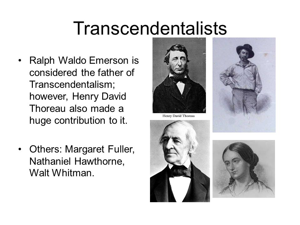 a comparison of the movements of transcendentalism and romanticism Transcendentalism emerged from english and german romanticism and in comparison with which our modern facts on file's literary movements.