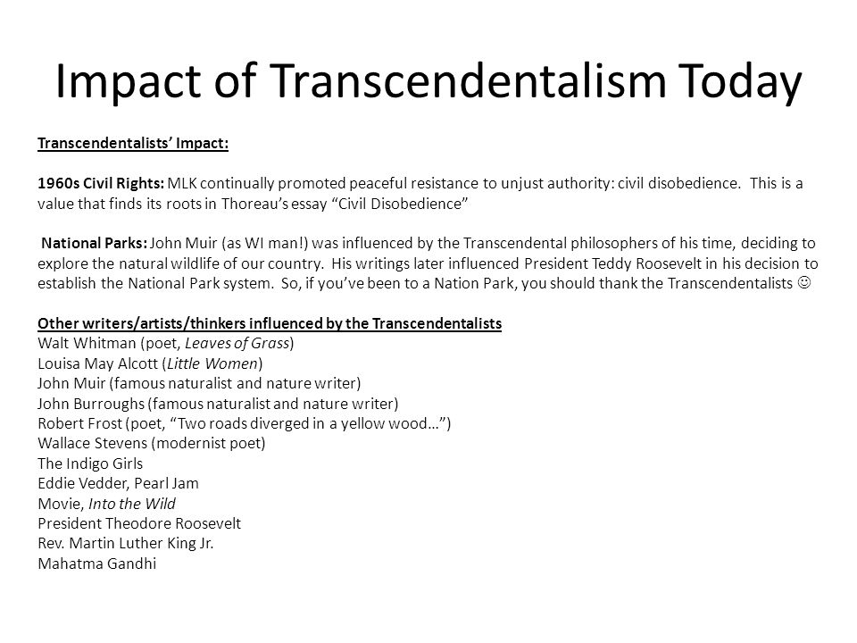 transcendentalism and romanticism 2 essay Look at characteristics of the romantic period on page 143 and use at least 2 quotes in a 400 word essay see 665+ for analysis and 535+ for doc 1 format: romanticism: transcendentalism and politics 2b.
