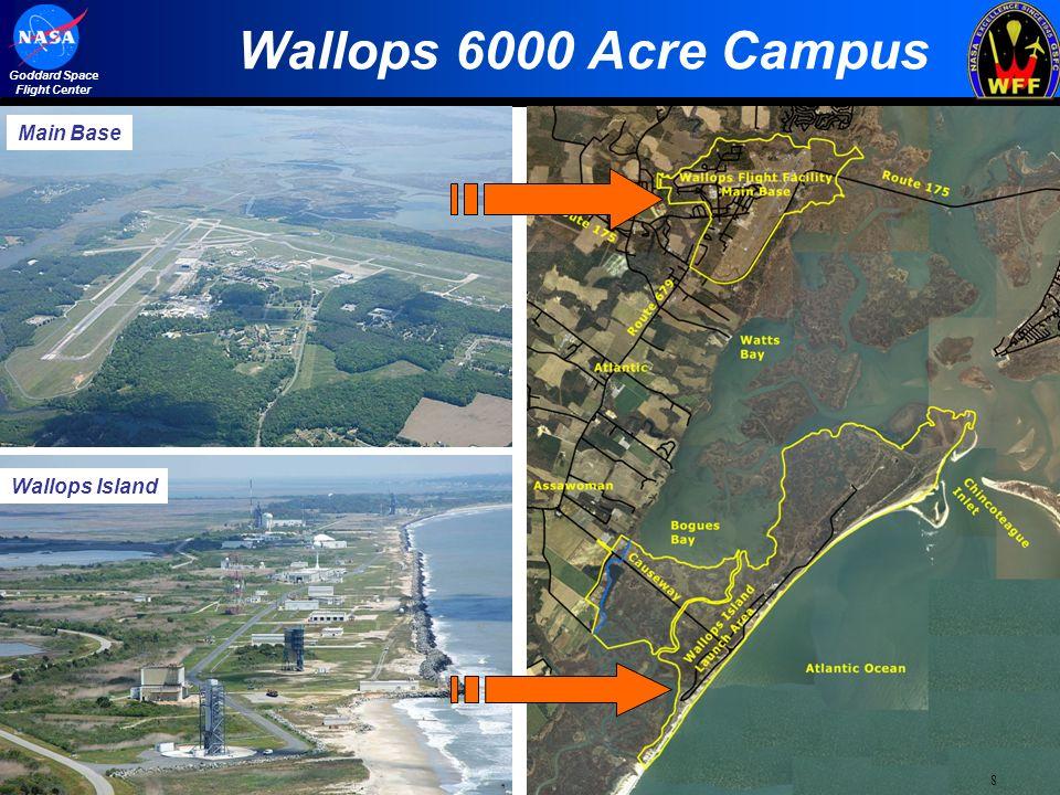 Map Us Missile Silos%0A   Wallops      Acre Campus Main Base Wallops Island