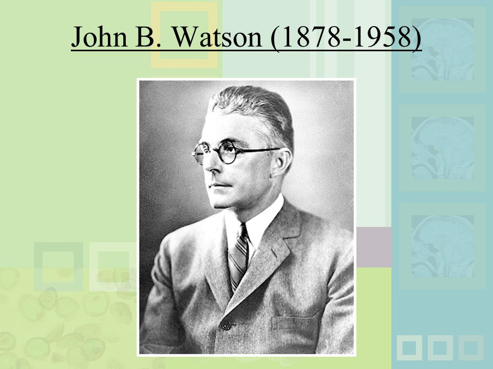 john b watson View john b watson's profile on linkedin, the world's largest professional  community john b has 5 jobs listed on their profile see the complete profile on .