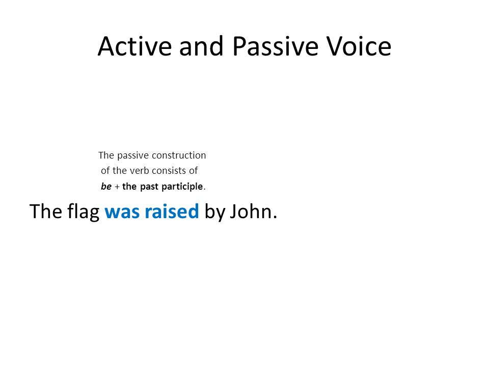 active and passive voice pdf download
