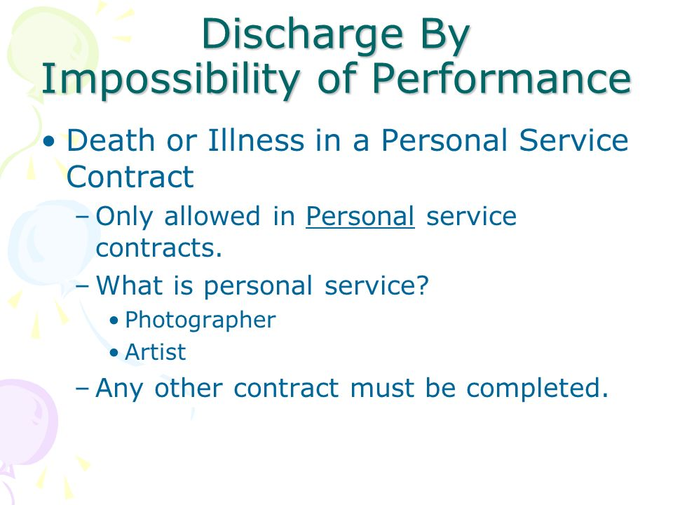 Methods To Terminate A Contract - Ppt Video Online Download