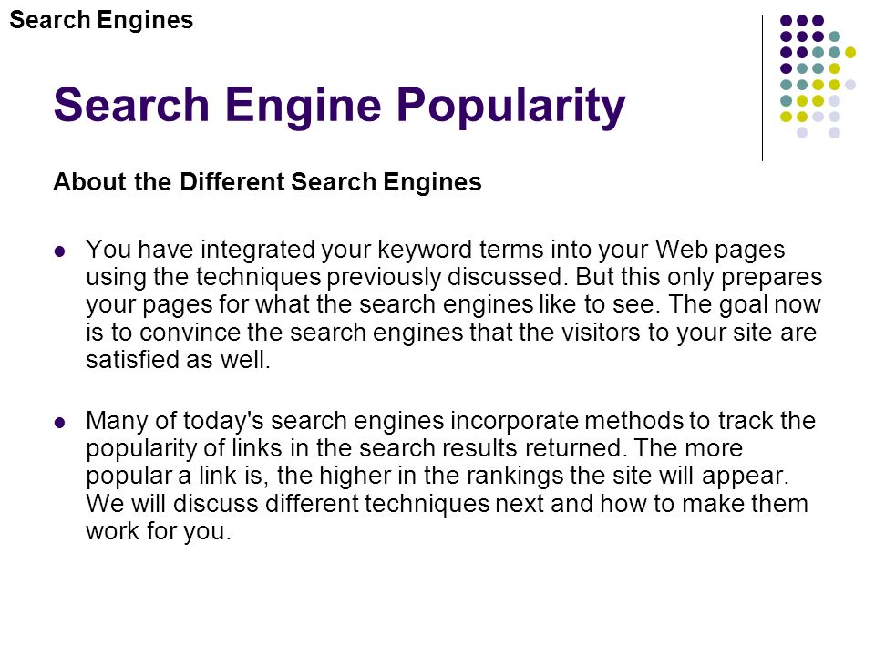 Top 10 Most Popular Search Engines In The World 2018 ...