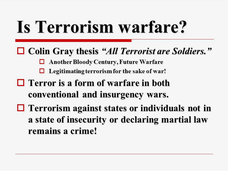 terorrism essay Here are some ideas that you can choose from to make a good thesis on terrorism: if you need further help in writing your thesis, you can reach cheapest essay.