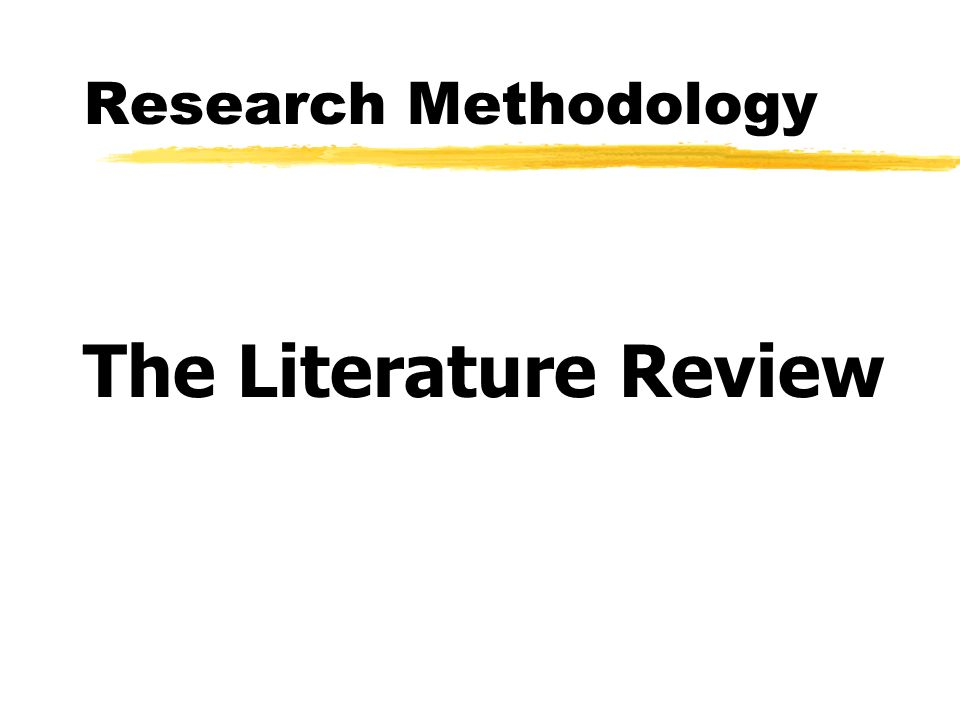 literature review on consultancy methodologies Practitioner review of the research literature university of  jenny moon,  independent consultant  methodology: creating a grounded practitioner review.