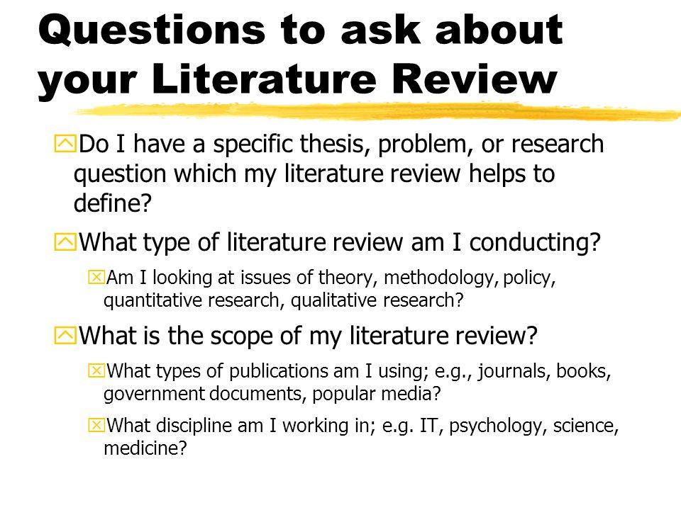 QUT cite|write - Writing a literature review