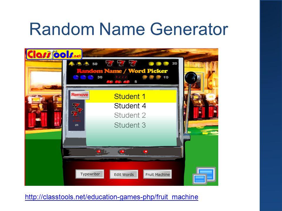 Slot Machine Spielen Name Picker, Der beste Casino Bonus ohne