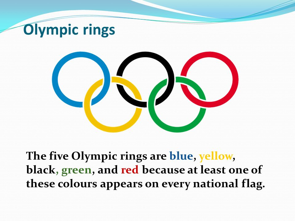 Olympic Rings Meaning Colours And Continents