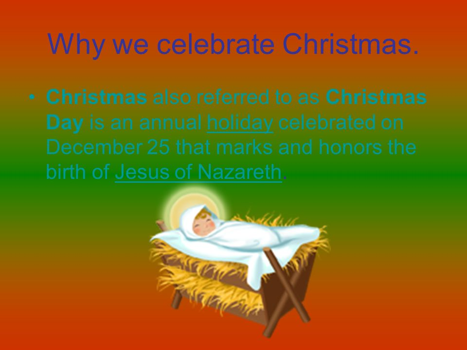 Christmas ppt video online download for Why christmas is the best holiday