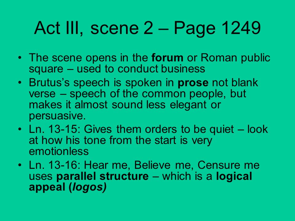 use of rhetorical questions in mark antonys speech in julius caesar by william shakespeare Power and persuasion in julius caesar article by: brutus defies cassius's view that caesar's ally mark antony should also die william shakespeare.