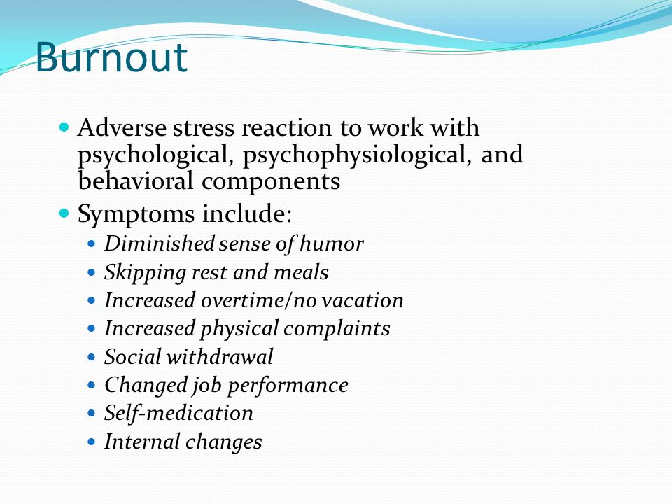 occupational stress and burnout western society Volume 17 issue 4 ehp ehpsnet/ehp the european health psychologist occupational stress is a major factor related to burnout among medical staff (escriba-aguir,.