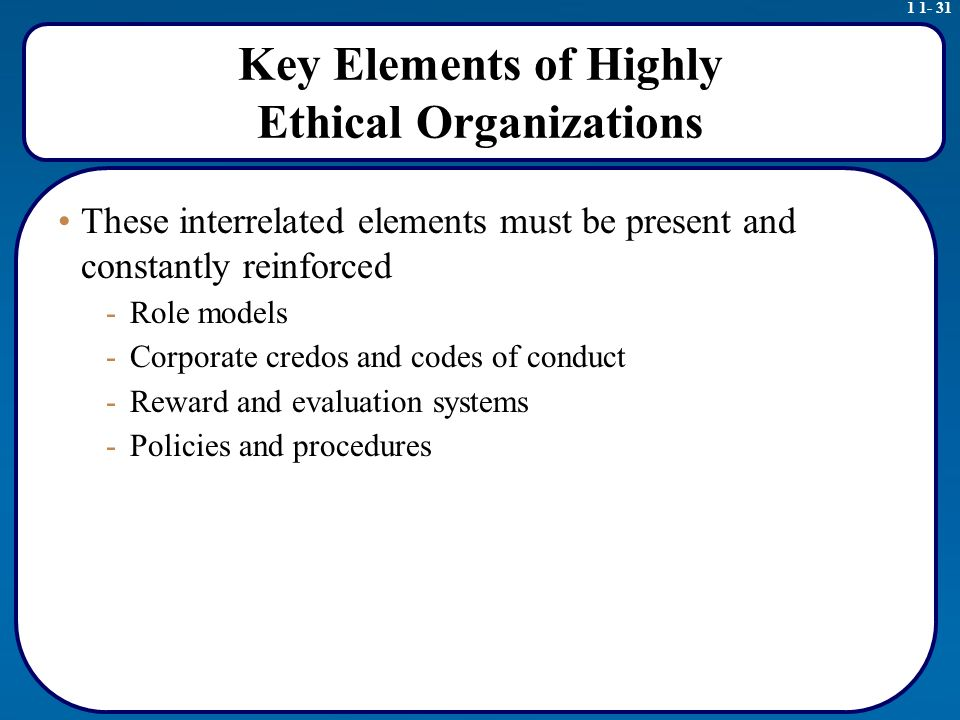 key elements of professionalism and ethics Reviews nine distinct elements that make a job a profession  i attempted to  introduce nine main points, and according to audience feedback, the speech   we have many professional societies, each with a code of ethics.