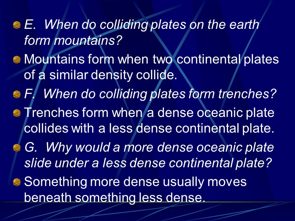 INVESTIGATING PLATE MOVEMENT AND FAULTS - ppt download