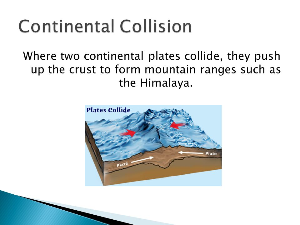 Continental Collision
