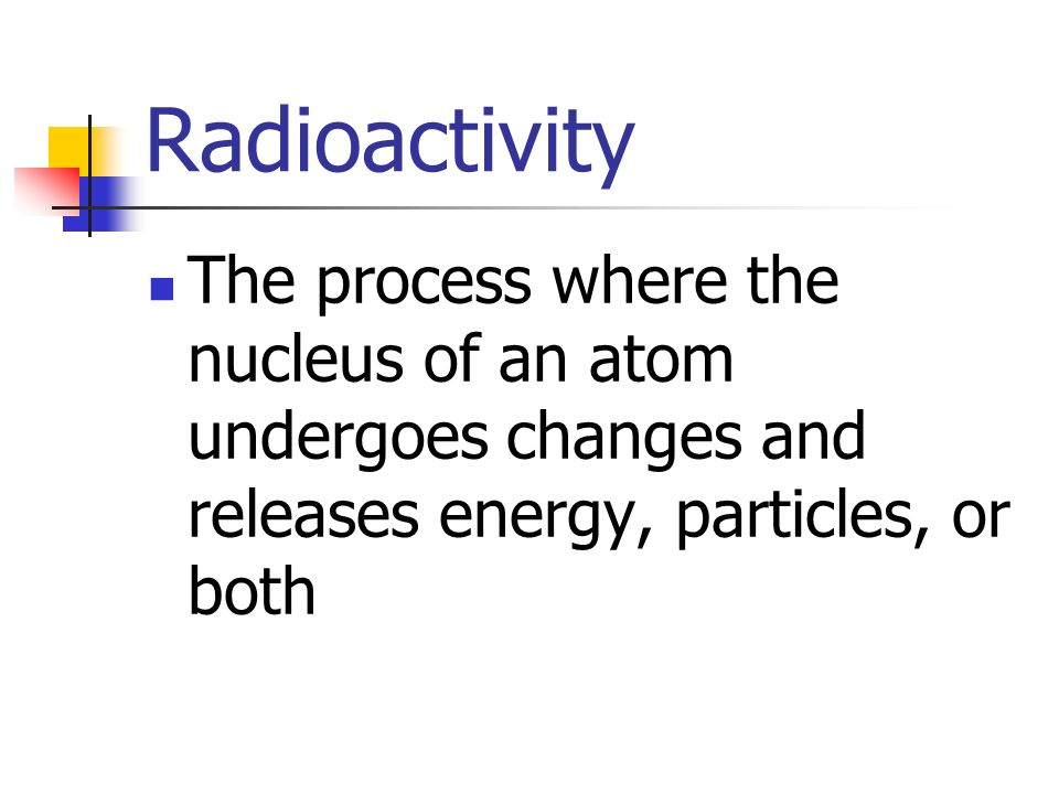 """the process of formation of radioactive waves from atoms Billions of years later, the earth formed from that debris  however, high-energy  processes (such as those occurring in atomic explosions, atomic accelerators,   [see """"water hammers and flutter produced gigantic waves"""" on page 197."""