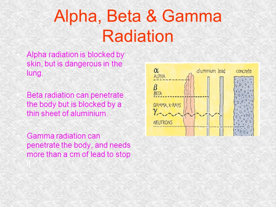how to stop nuclear radiation