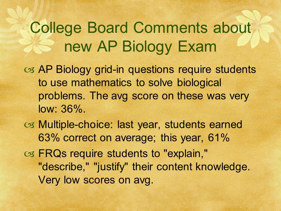 college board ap biology essay answers College board ap biology practice exam answers college board ap biology practice exam the college application essay 6th ed : the college application essay 6th ed.