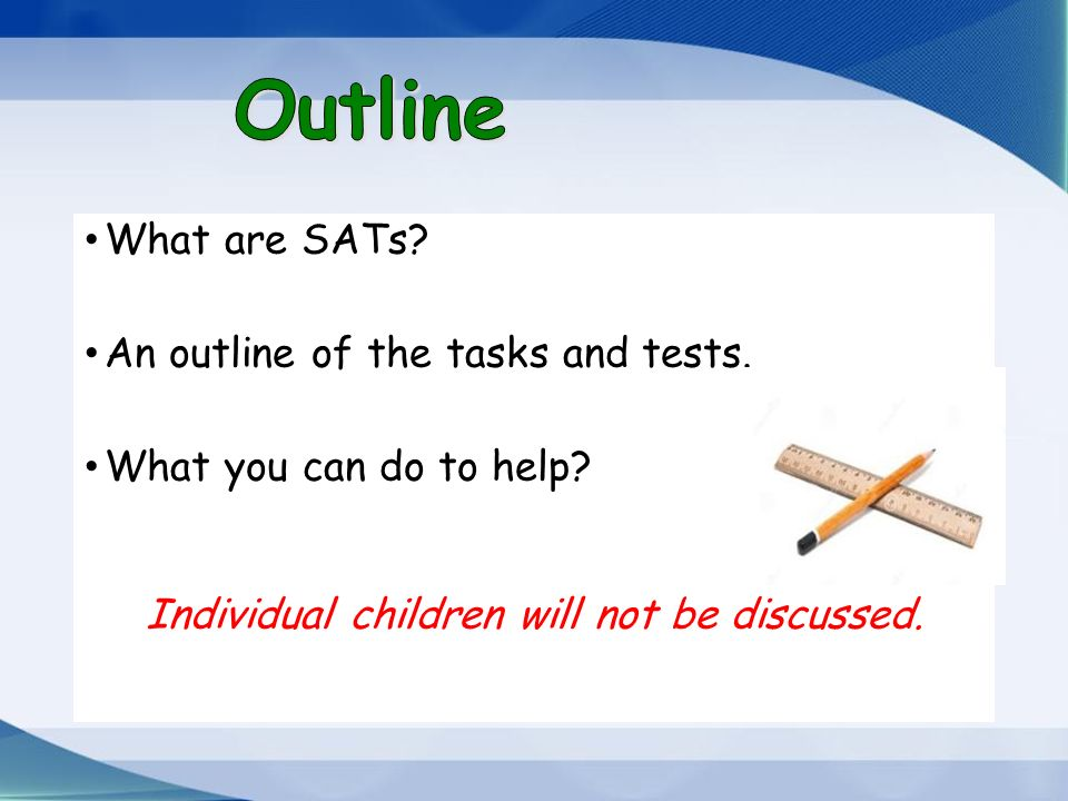 Welcome parents and friends to the Year 2 SATS Meeting - ppt download