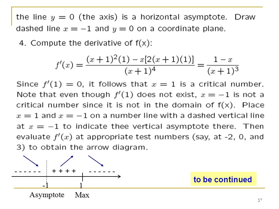 Chapter 3 additional applications of the derivative ppt video 57 1 asymptote ccuart Images