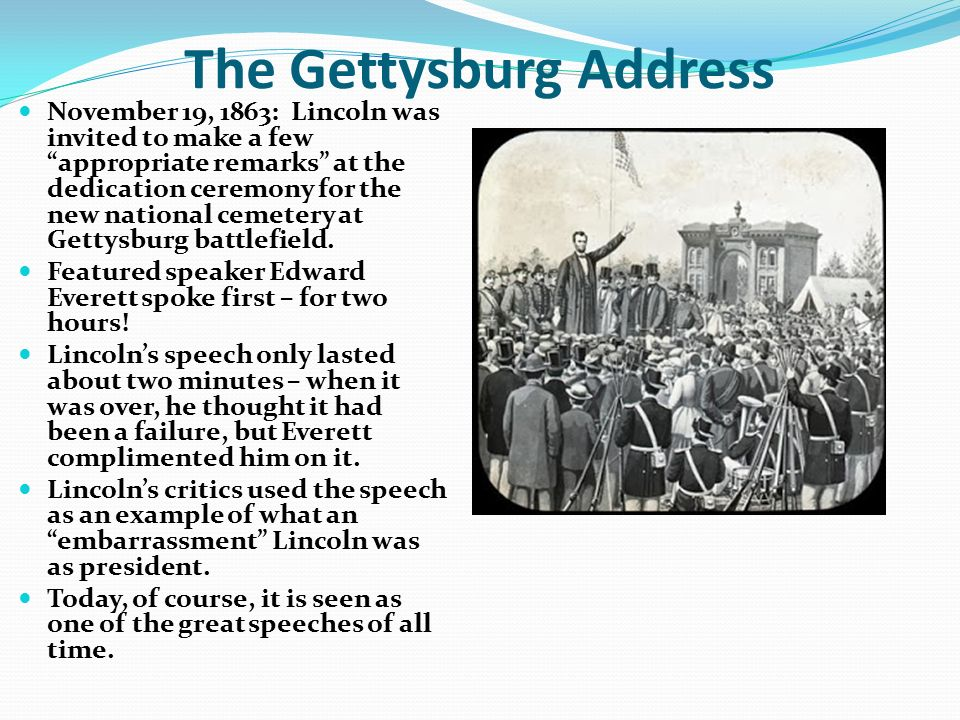 antithesis used in the gettysburg address What are some examples of the rhetorical devices used in the gettysburg address.