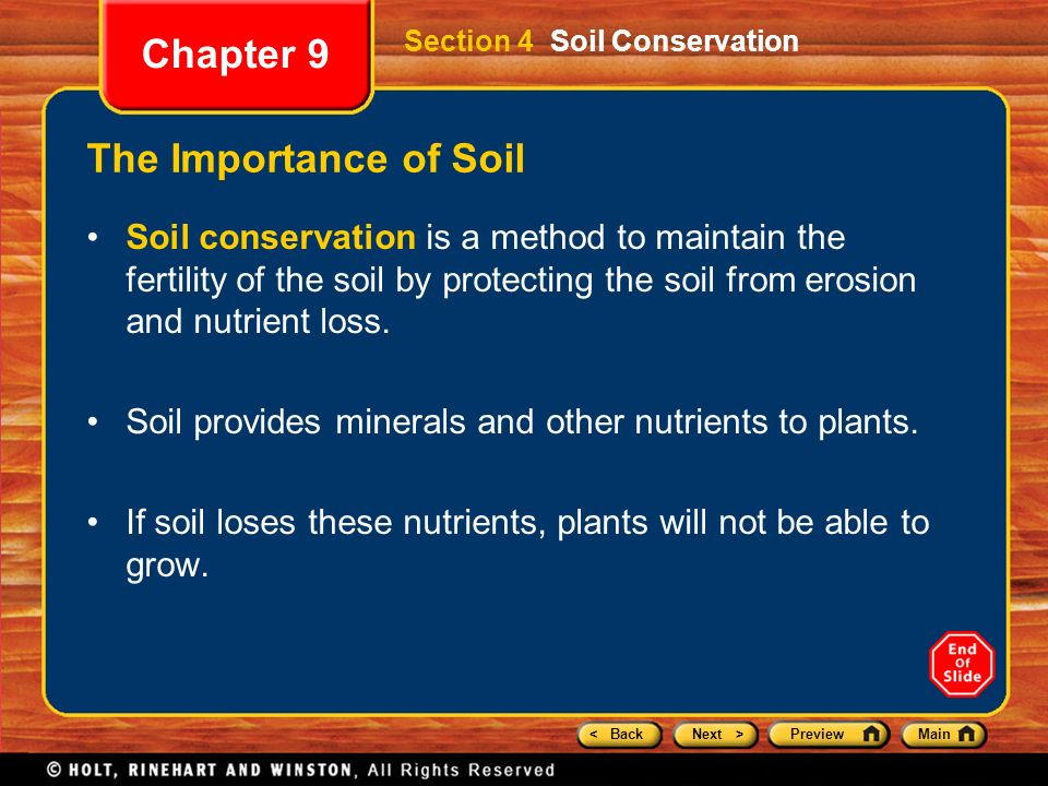 Chapter 9 preview section 1 weathering section 2 rates of for Importance of soil minerals