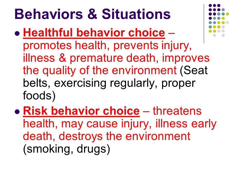 Behaviors & Situations