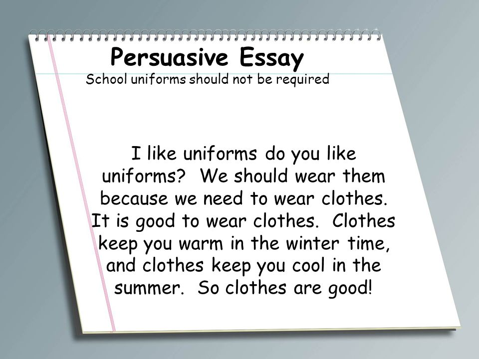 accokeek academy write a book participants ppt  persuasive essay school uniforms should not be required 3 school