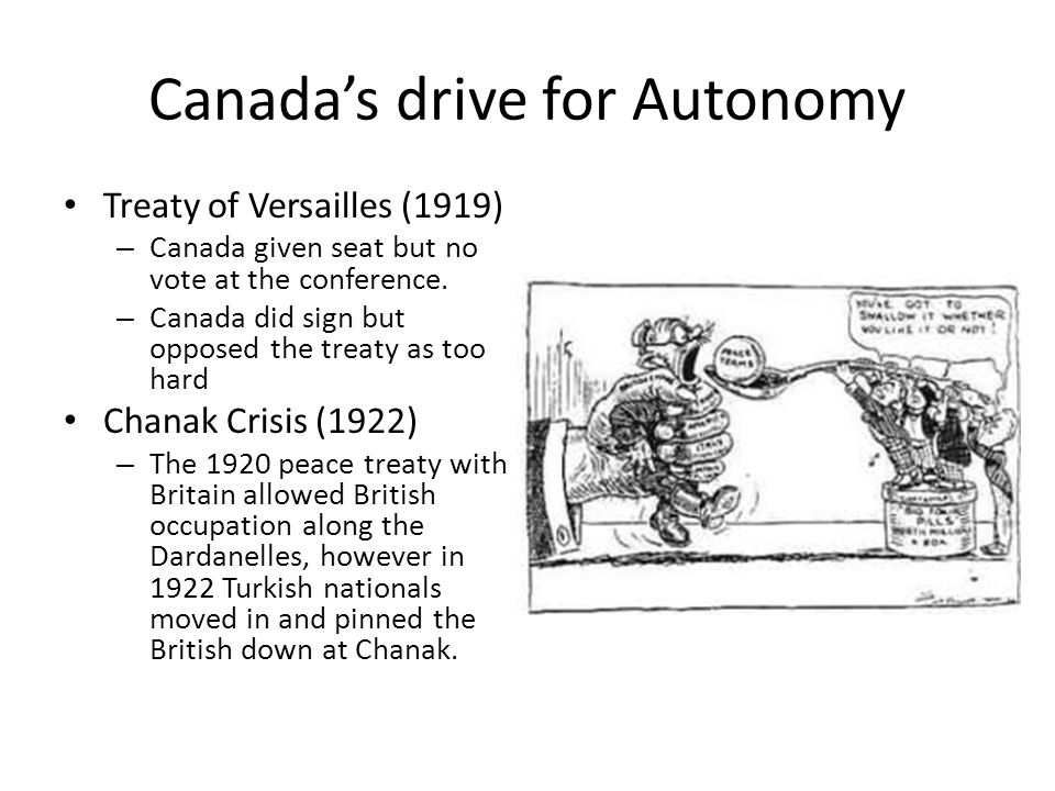 canadas autonomy Canada's constitution, and especially the constitution act, 1867, reflect the fact that our country became an independent nation through a process of evolution rather than revolution.