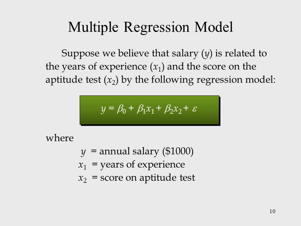 how to get multiple regression equation in excel