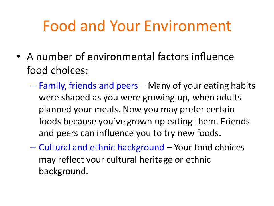 Environmental Factors That Influence Teens