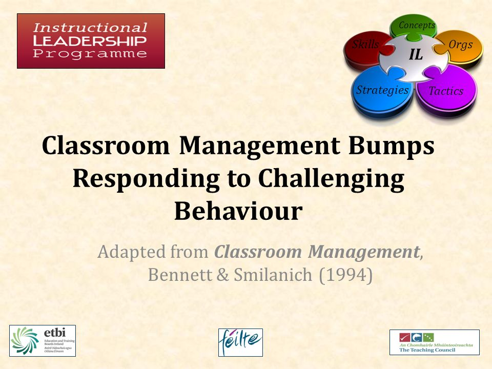 classroom management instructional strategies