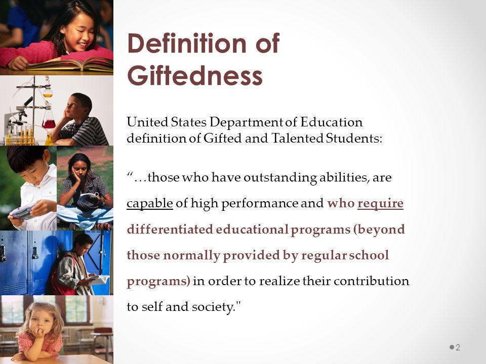 gifted and talented education in the united states essay Essays papers - gifted and talented education research paper.