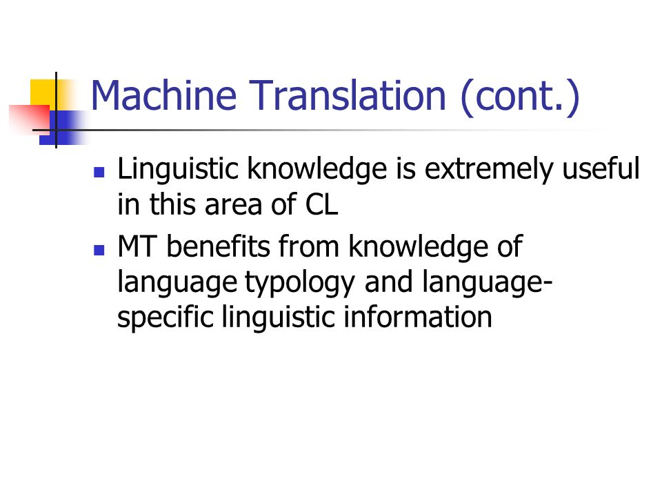 language and linguistic knowledge