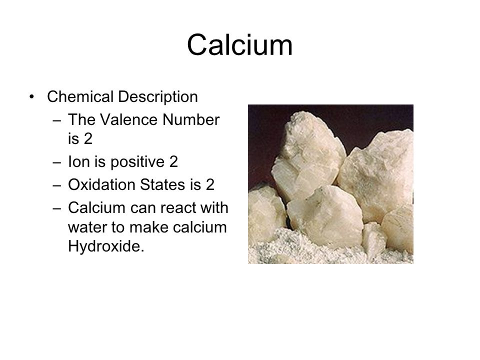 how to make calcium water