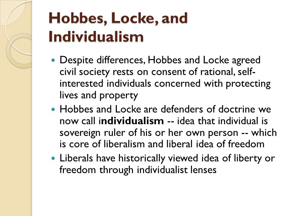 difference between hobbes and locke and Hobbes and locke were not the first to use the social contract model as a tool to explain the foundations of human society earlier exponents of the theory can be traced much further back in history.