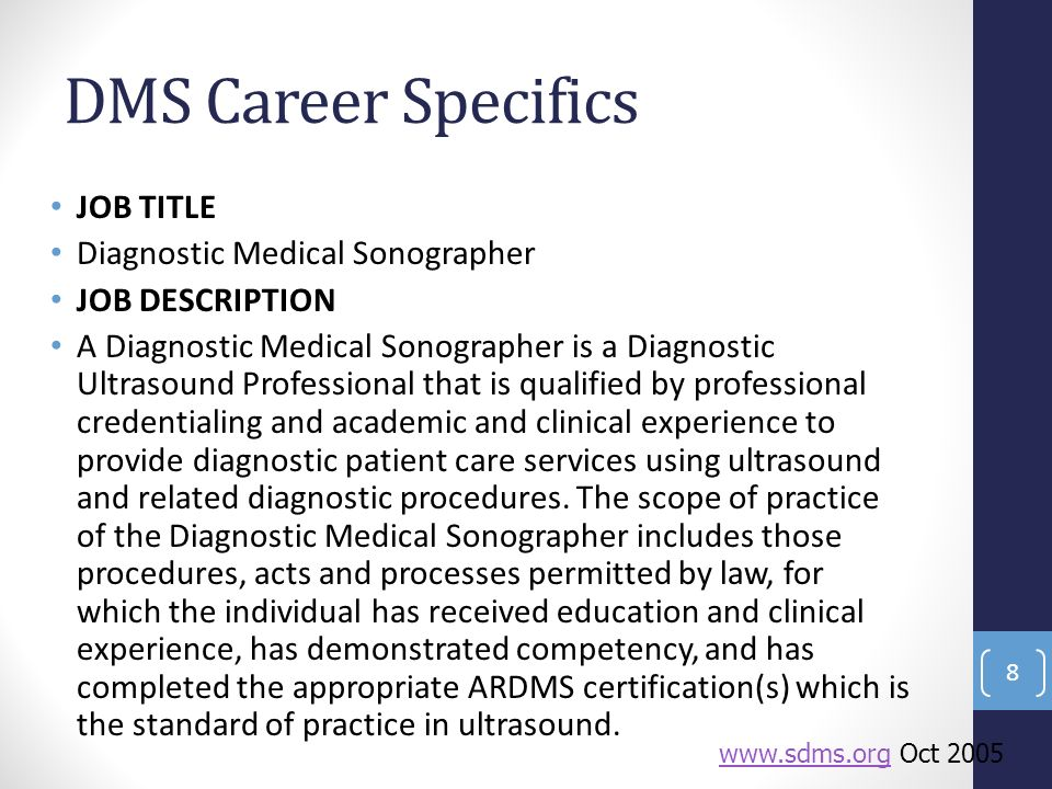 Diagnostic Medical Sonography at Tidewater Community College - ppt ...