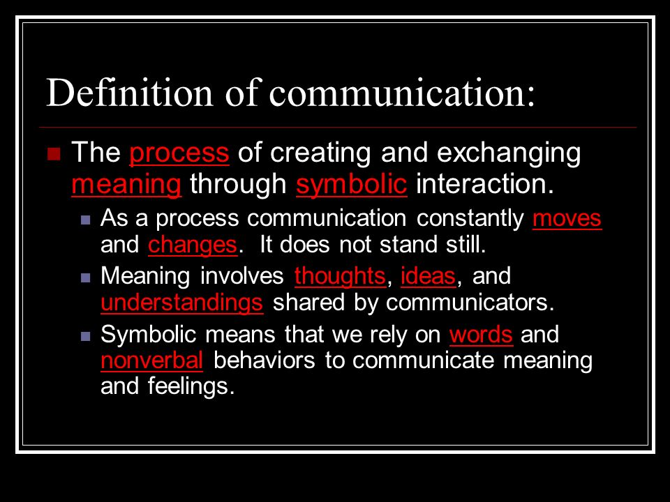 The Communication Process Ppt Download
