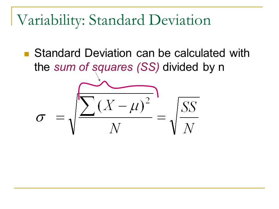 how to calculate sample mean and standard deviation in excel