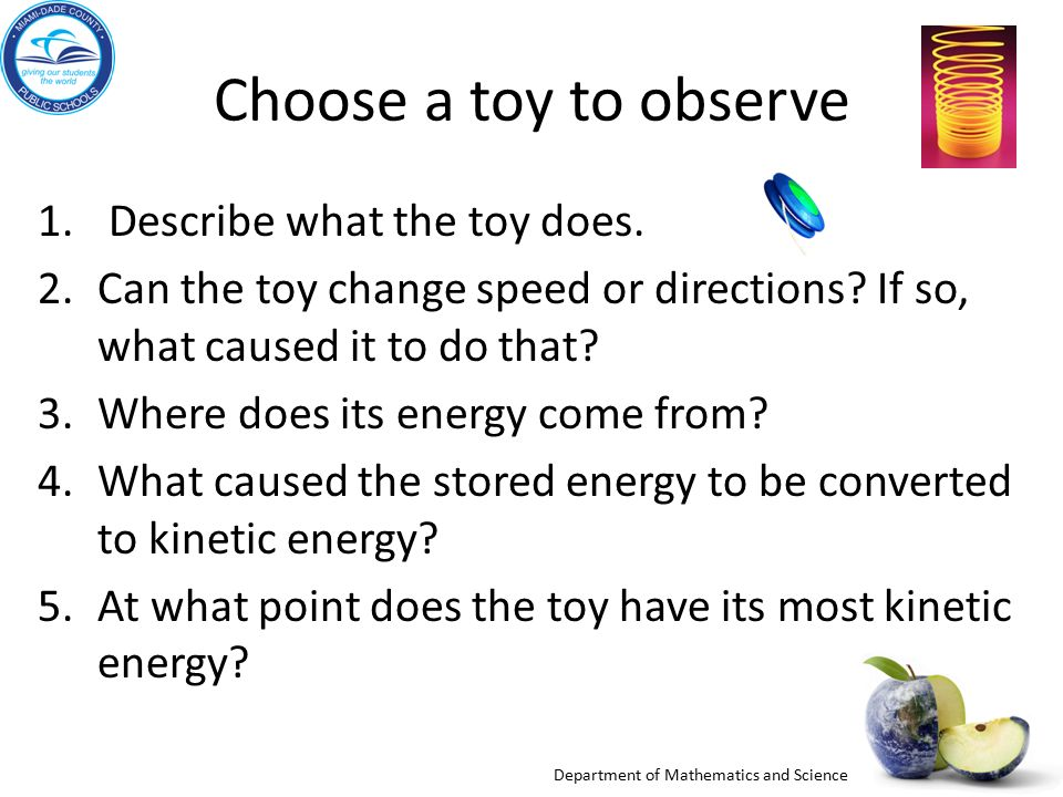 Physical Science Big Idea 10: Forms of Energy Big Idea 11: Energy ...
