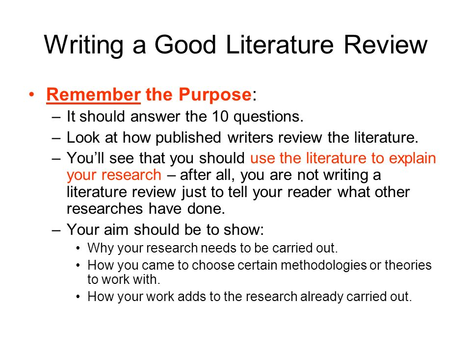 telling a research story writing a literature review download