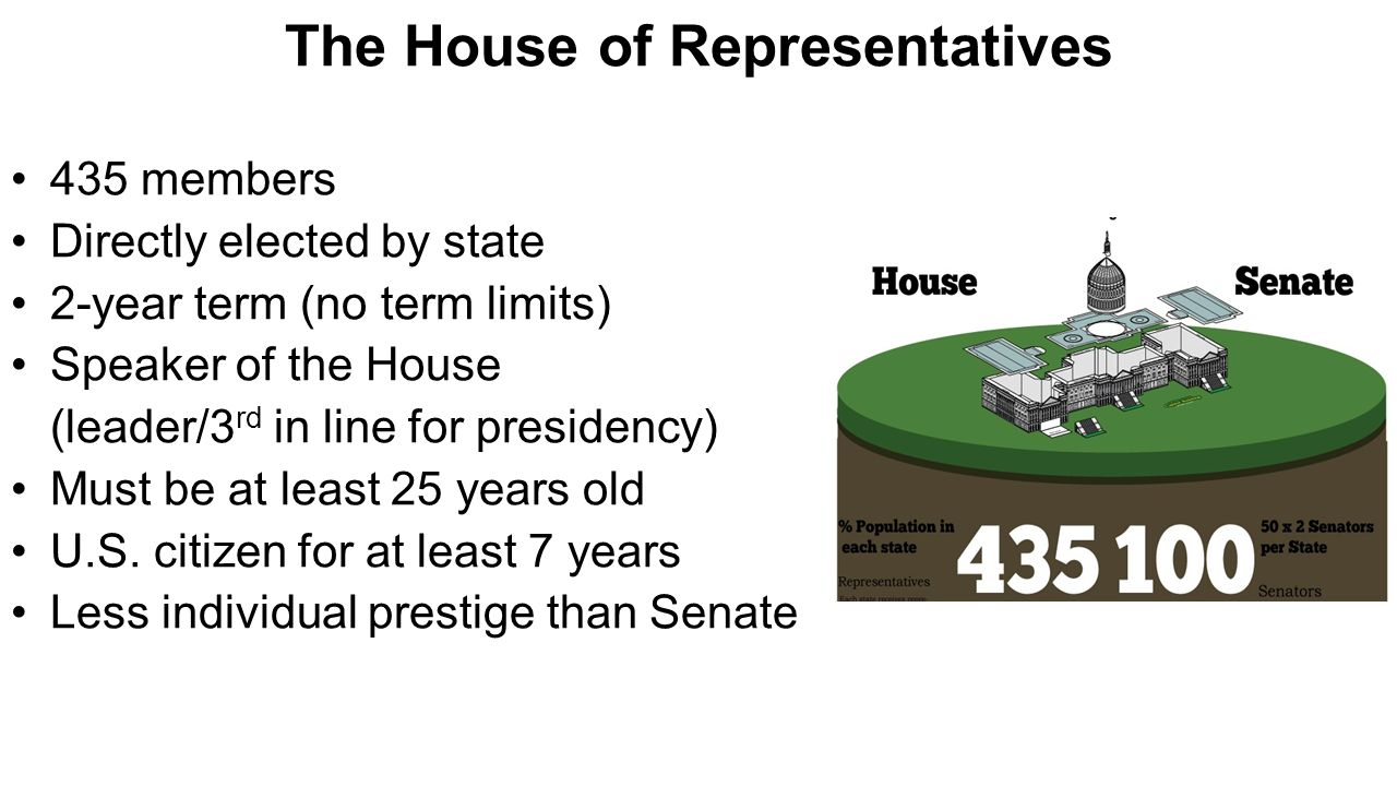 House of representatives term and qualifications