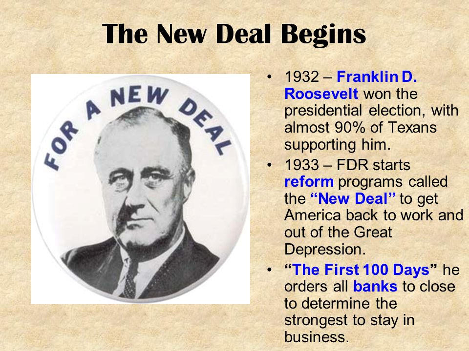 the new deal in america Fdr and the new deal during the great depression, african americans were disproportionately affected by unemployment: they were the first fired and the last hired.
