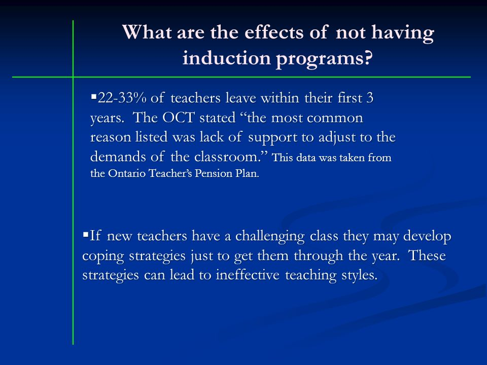 "effects of teacher induction mentoring programs on ""what are the effects of induction and mentoring on."