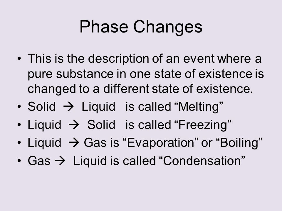Phases of Matter Phase Changes Heating and Cooling Curves ...