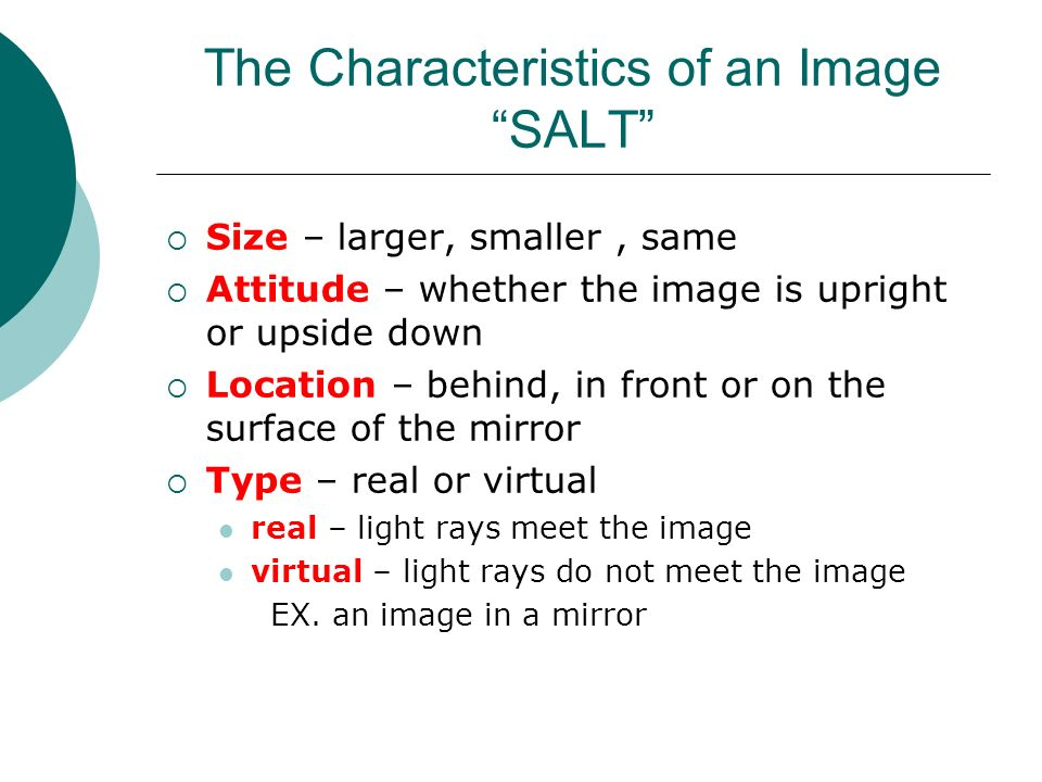 Reflection Of Light In Mirrors Ppt Reflection And