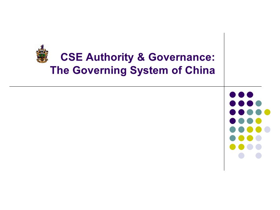 governance in india for cse